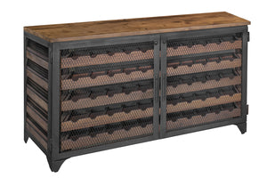 VINO SIDEBOARD LOCKER 55 BOTTLES - Windsorchrome
