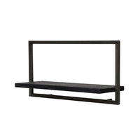 D-BODHI METAL FRAME WALL BOX - BLACK, - Windsorchrome