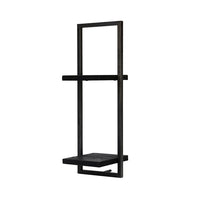 D-BODHI METAL FRAME WALL BOX - BLACK - Windsorchrome