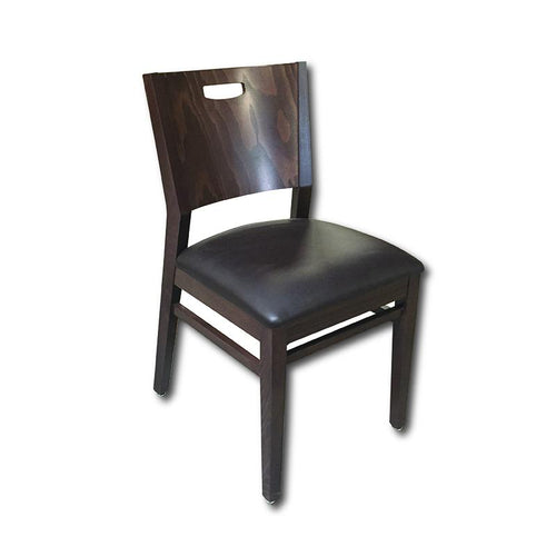 Wood chair -Axtrid - Windsorchrome