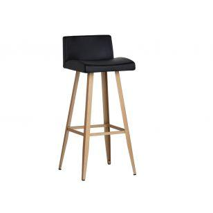 Metal Stool- Dani - Windsorchrome