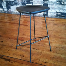 Load image into Gallery viewer, metal stool - Windsorchrome