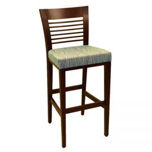 Wood stool Horz - Windsorchrome