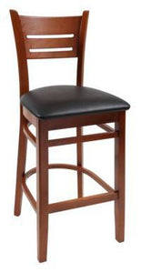 Wood stool Danielson - Windsorchrome
