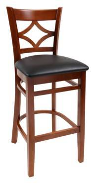 Wood stool Princeton - Windsorchrome