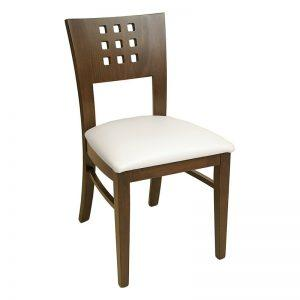 wood chair 9 hole - Windsorchrome