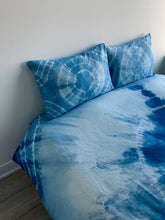 Load image into Gallery viewer, Pure Indigo AKA Blue Gold Magic Eye Queen Sized Duvet-LIMITED EDITION