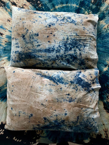 Indigo AKA Blue Gold, Red Eucalyptus and Black Walnut Pillow Case Set-LIMITED EDITION
