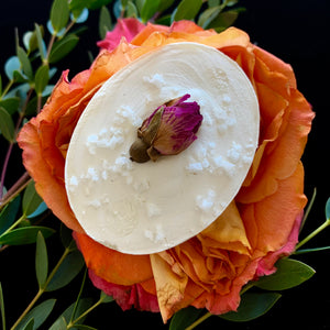 Pure Rose Savon De Marseille-Oval