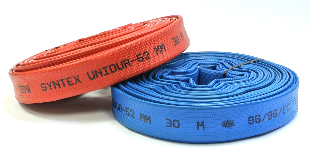 Unidur Red Rubber Fire Hose Type 3 German