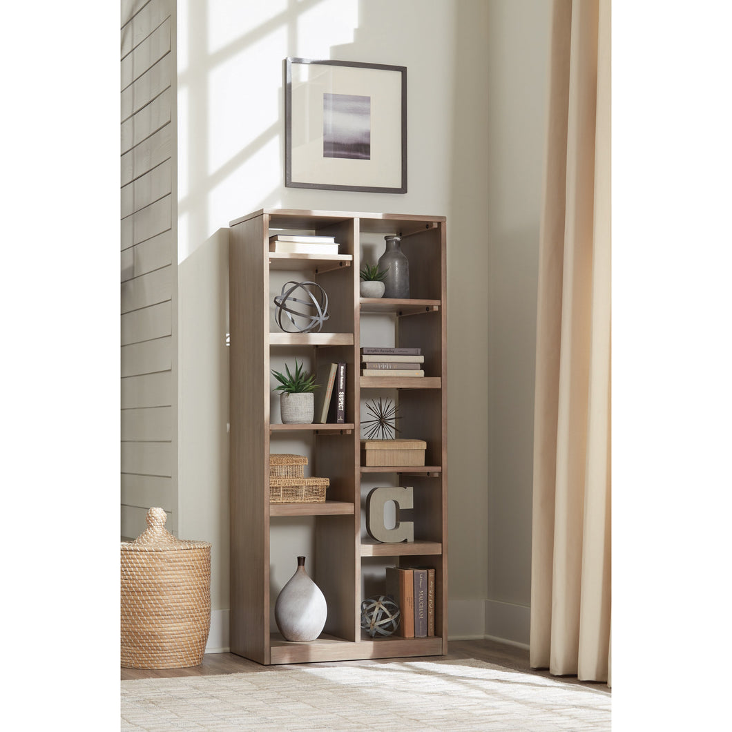 10-Shelf Rectangular Etagere Sandstone