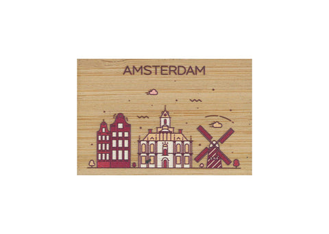Amsterdam Magnet Bamboo