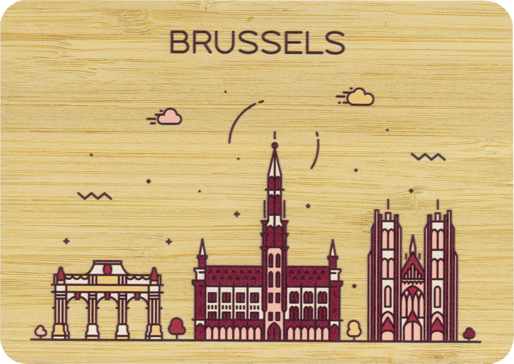 Brussels Postcard Bamboo