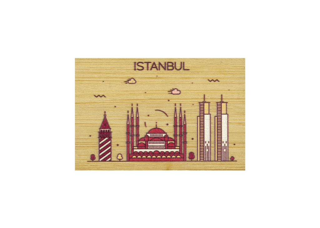 Istanbul Magnet Bamboo