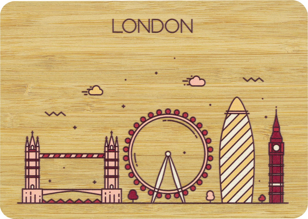 London Postcard Bamboo