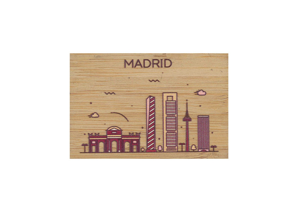 Madrid Magnet Bamboo