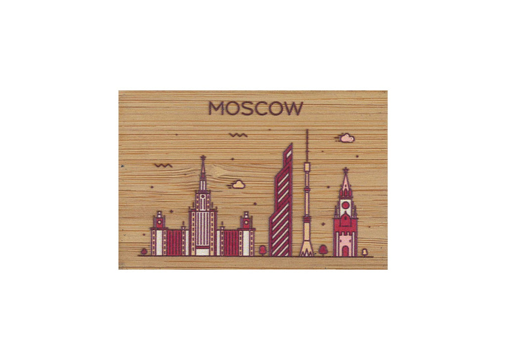 Moscow Magnet Bamboo