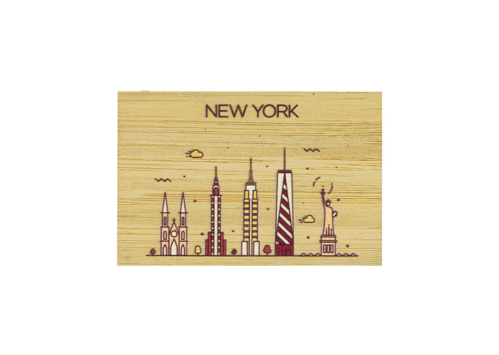 New York Magnet Bamboo