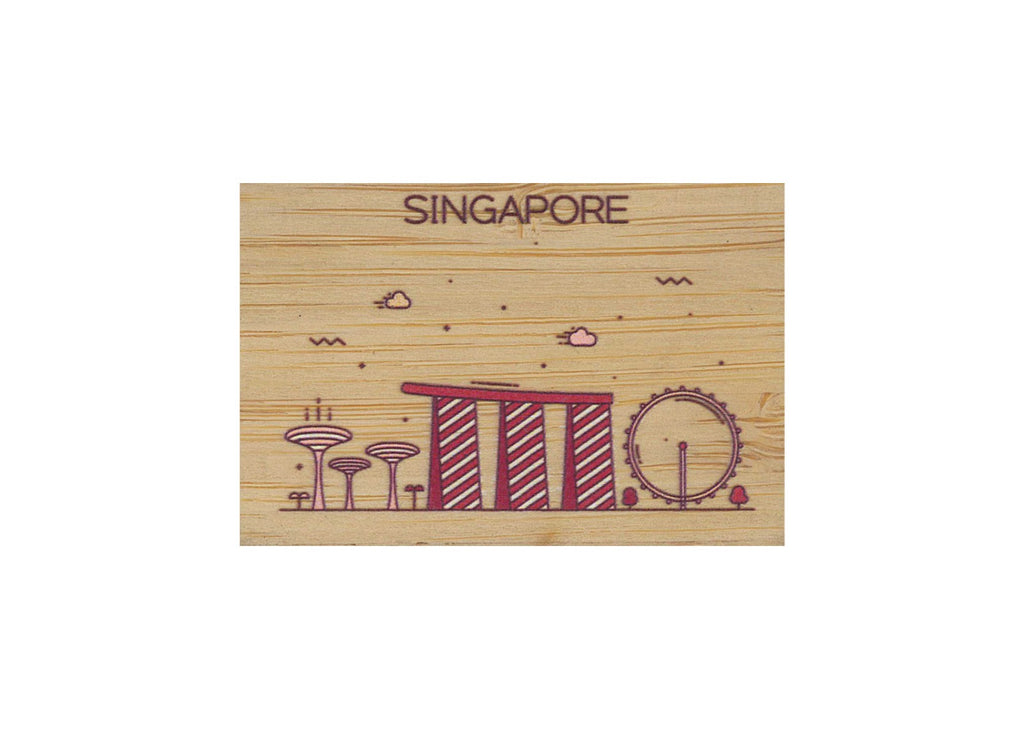 Singapore Magnet Bamboo
