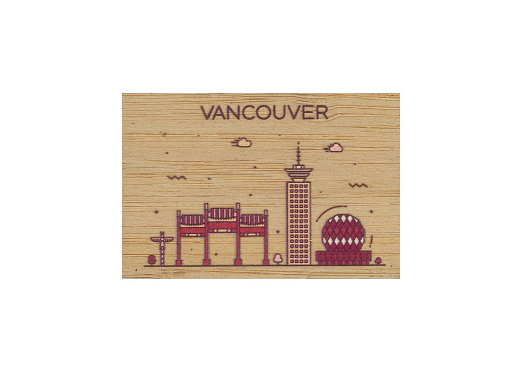 Vancouver Magnet Bamboo