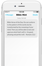Load image into Gallery viewer, daily bible verse, daily bible text message, daily affirmation
