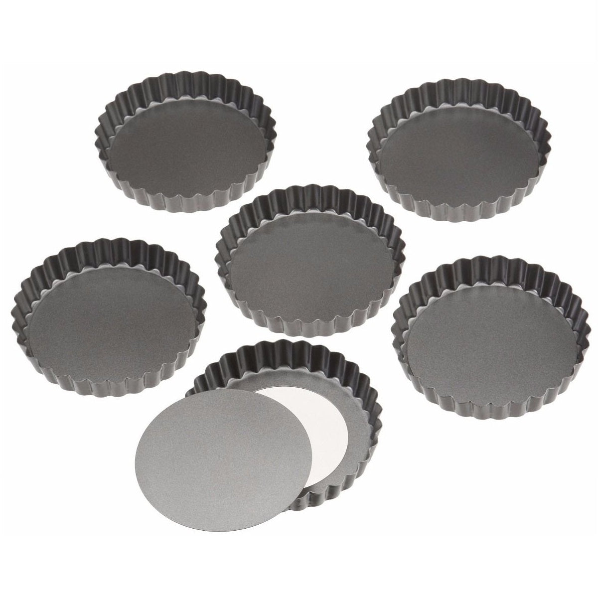 Set Mini Tartaleta Desmontable x6und Wilton