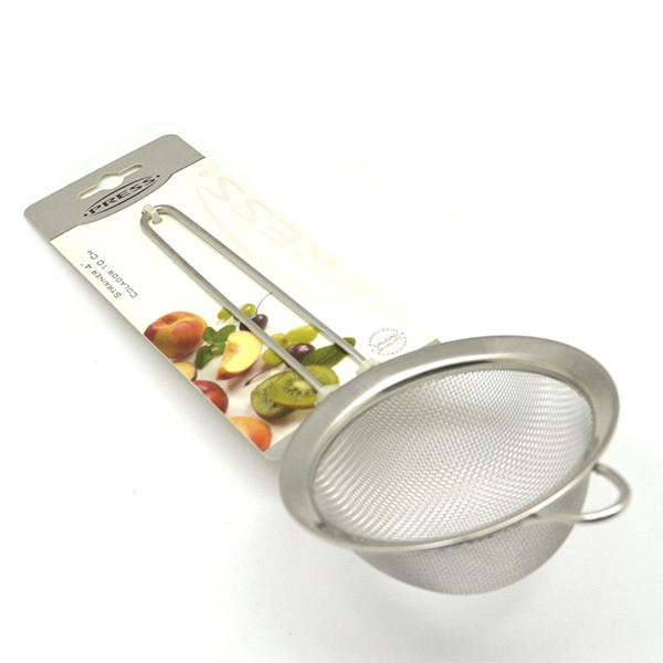 Colador Malla Acero/ Inox 10cm Press