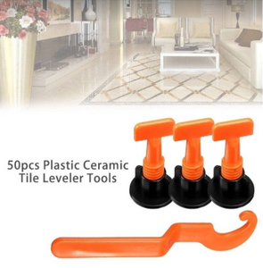 50PCS REUSABLE TILE LEVELER TOOLS (Best for DIY)