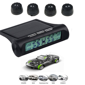 SOLAR POWER TIRE PRESSURE MONITORING SYSTEM