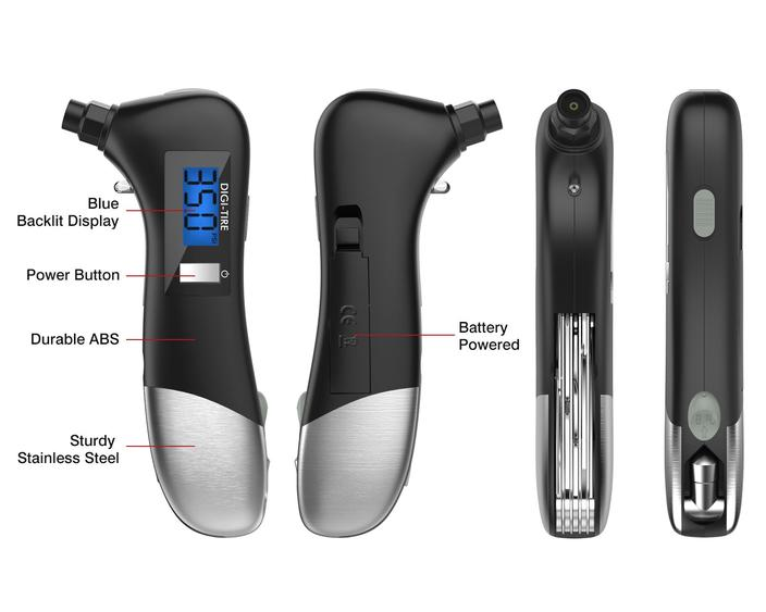 9 IN 1 MULTI-FUNCTION DIGITAL TIRE PRESSURE GAUGE