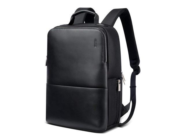 LEATHER ANTI-THEFT LUGGAGE BACKPACK
