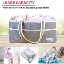 Load image into Gallery viewer, Blush Pink Baby Diaper Caddy