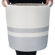 Load image into Gallery viewer, Woven Laundry Basket - Tall