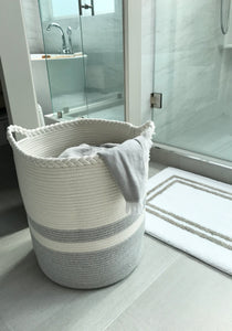 Woven Laundry Basket - Tall