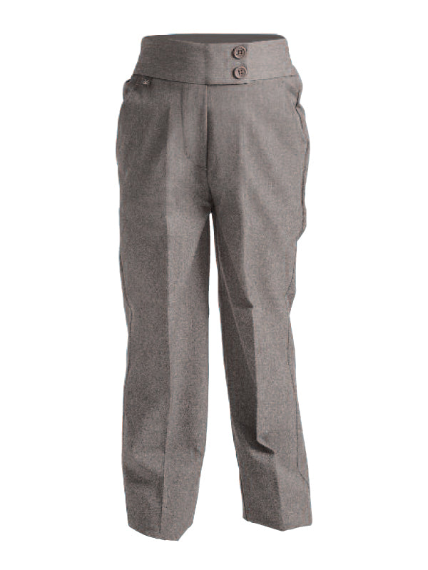 GREY Younger Girls school trousers Sizes 3/4 - Waist 36
