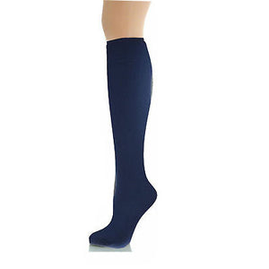 Navy School Socks