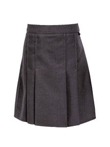Grey Skirt - Box pleats