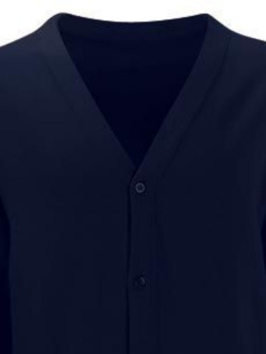 Navy school cardigan