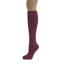 Load image into Gallery viewer, Ratoath NS School Socks GREY / WINE