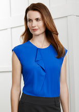 Load image into Gallery viewer, Ladies Mia Pleat Knit Top
