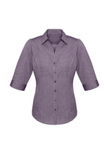 Load image into Gallery viewer, Ladies Trend 3/4 Sleeve Shirt