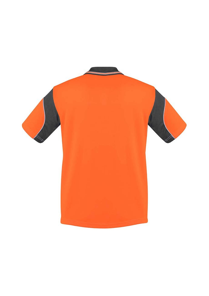 Mens Hi Vis Aztec Polo - Short Sleeve