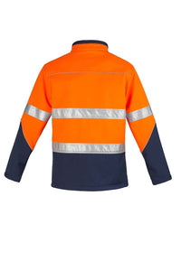 Unisex Hi Vis Soft Shell Jacket