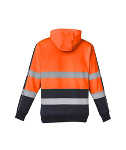 Unisex Hi Vis Stretch Taped Hoodie