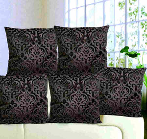 Chenille fabric Cushion Cover (set of 5)