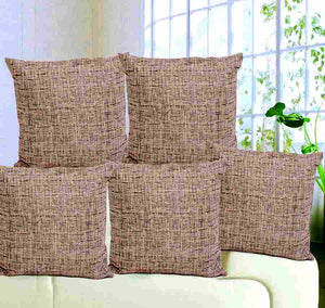 Textura Cotton Cushion Cover (set of 5)