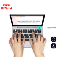 GPD P2 Max Pocket 2 8GB 256GB 8.9 Inch Intel Celeron 3965Y IPS Touch Screen Mini Portable Laptop  Netbook Computer PC Windows 10