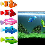 2019 New Funny Swim Electronic Fish Toy Activated Battery Powered Robotic Pet For Fishing Tank Decorating Fish