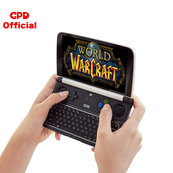 GPD WIN2 WIN 2 Windows 10 Gaming Laptop Mini Portable Computer Notebook  Intel Core M3-8100Y 8GB+256GB 6 Inch IPS Touch Screen