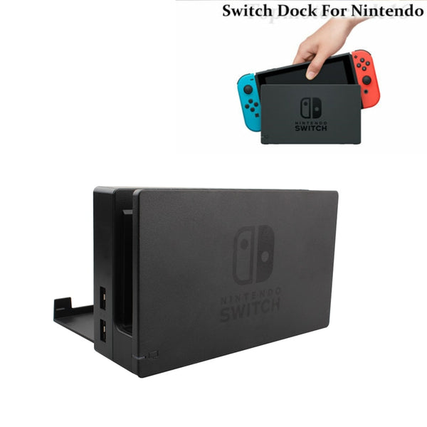 Original NS Switch Charging Dock HDMI TV Dock Charger Station Stand For Nintendo Switch Console Screen TV Dock Station